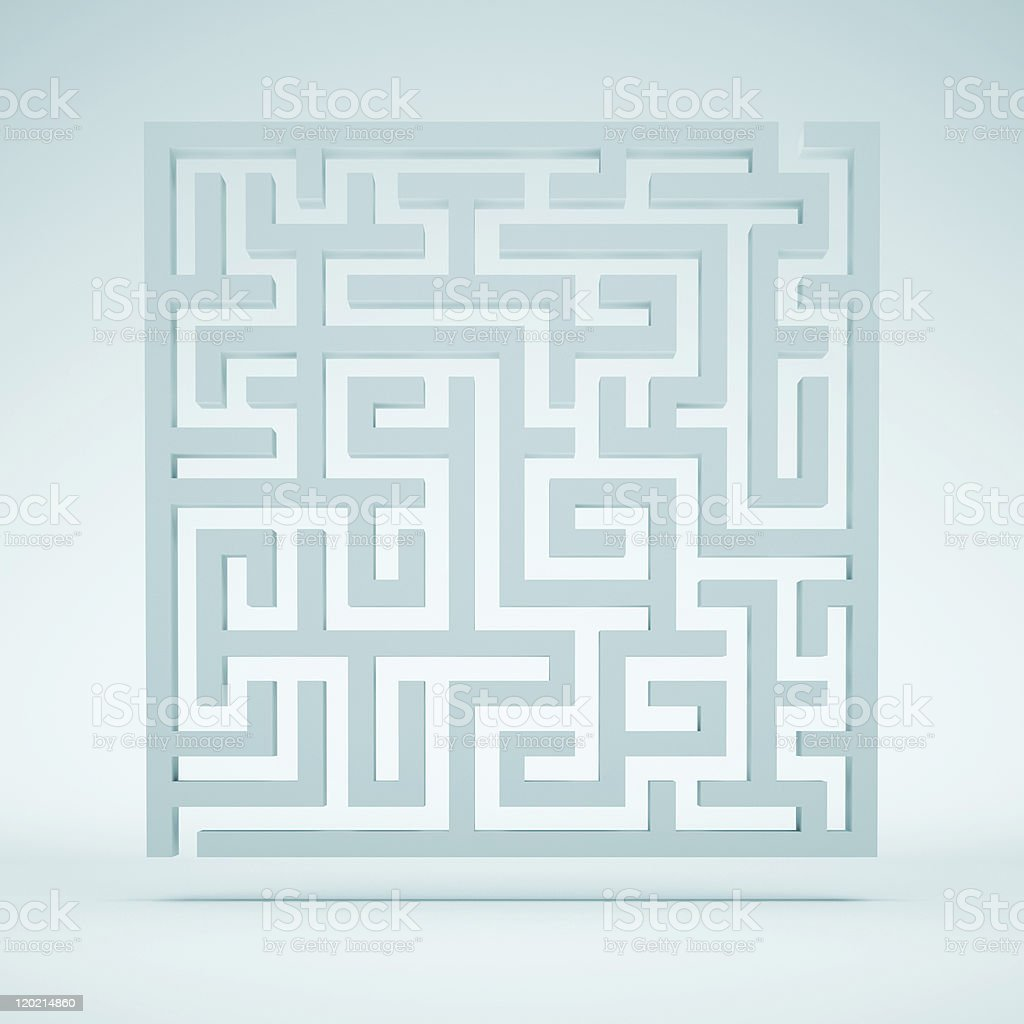 Maze Background stock photo