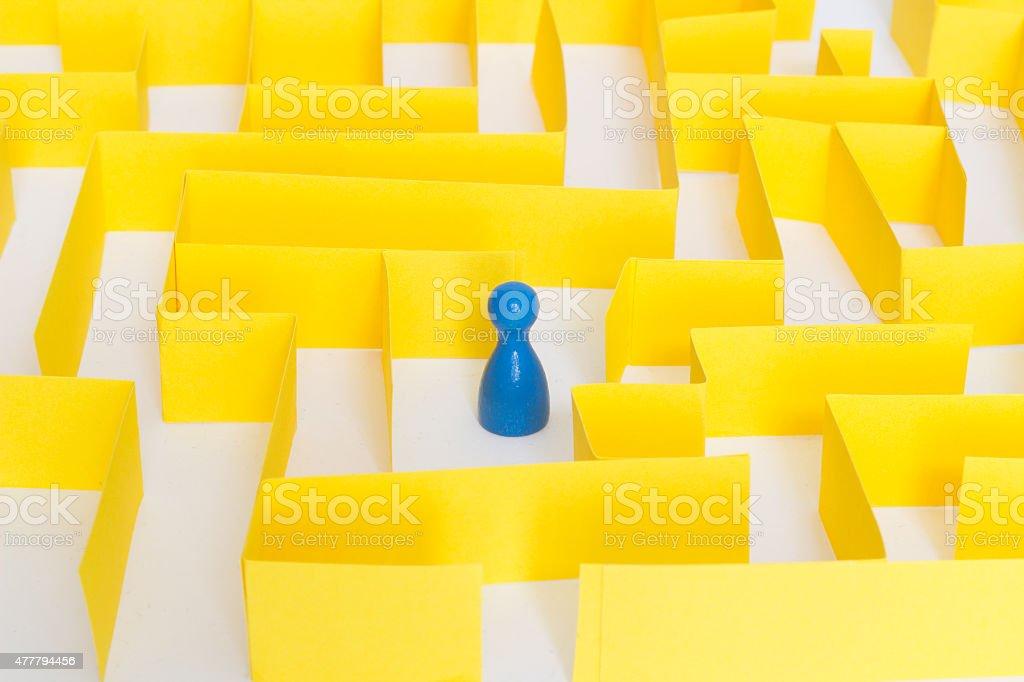 maze stock photo