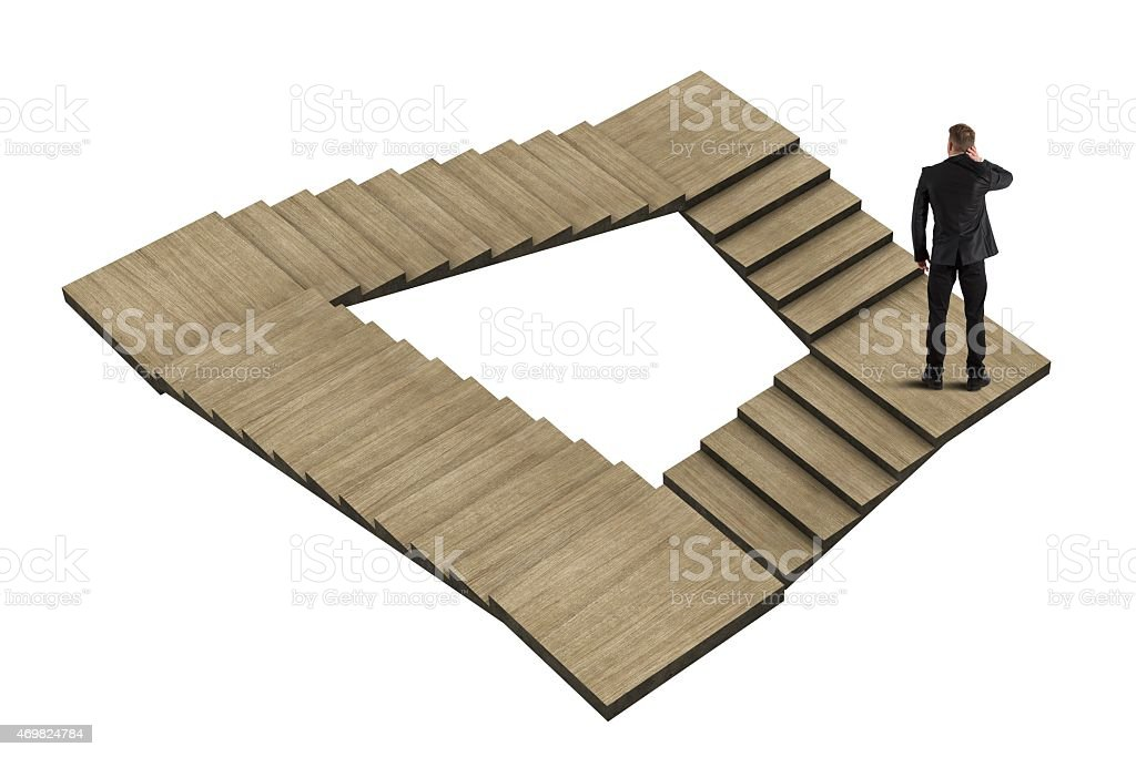 Maze with no exit stock photo