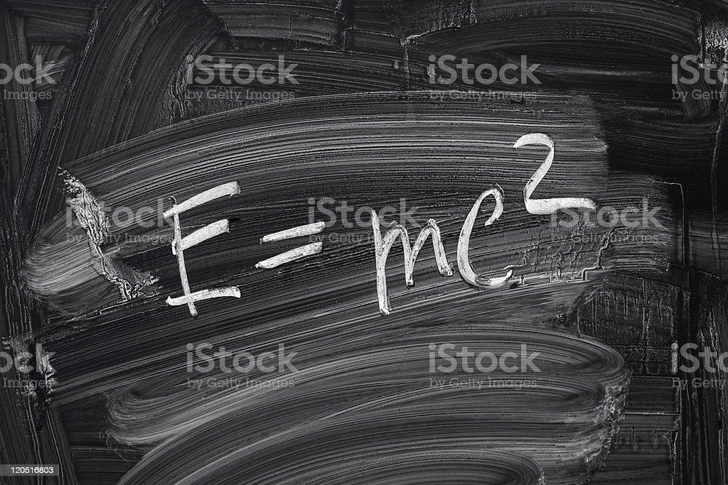 E = mc2. photo libre de droits