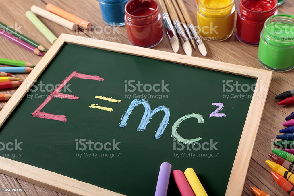 E=mc2 royalty-free stock photo
