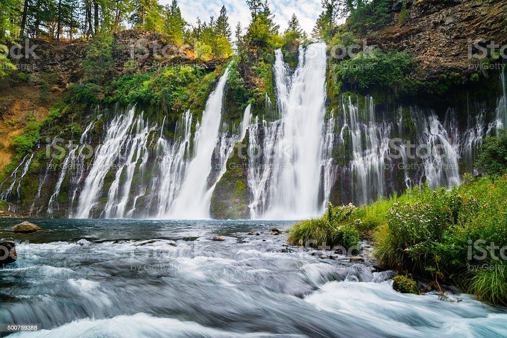 McArthur-Burney Falls stock photo