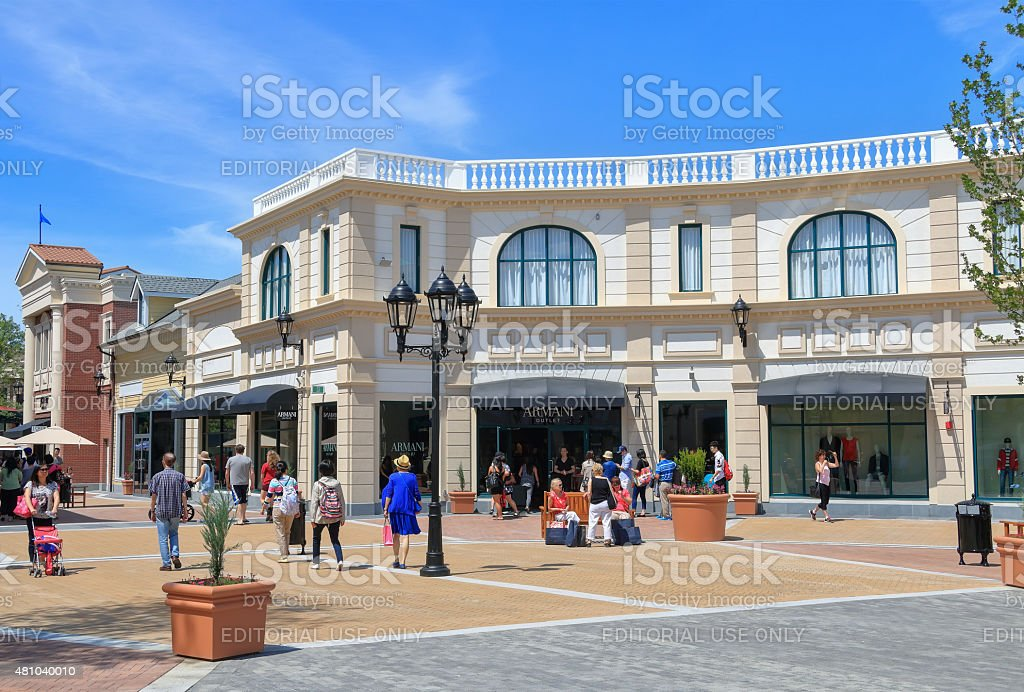 McArthurGlen Designer Outlet stock photo