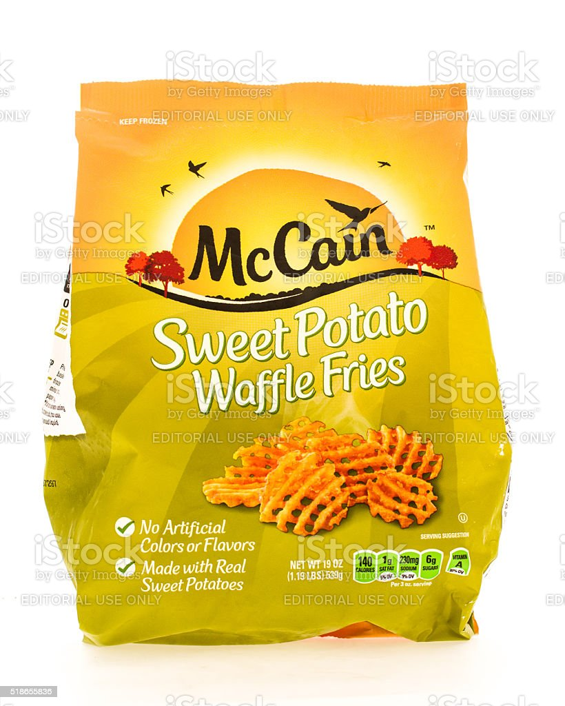 McCain stock photo