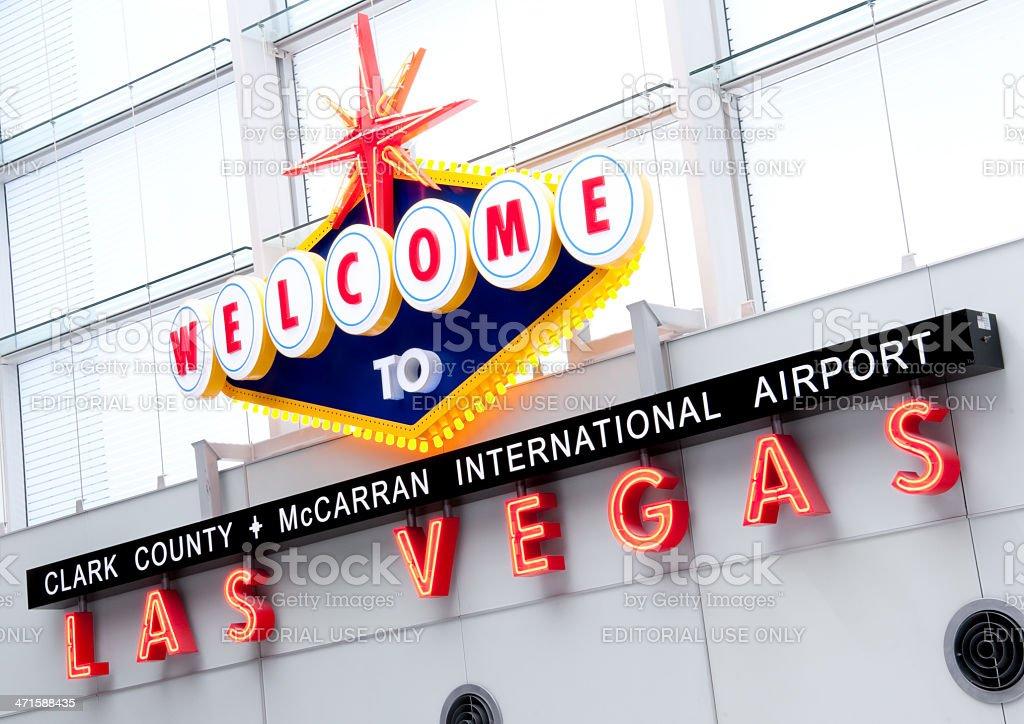 McCARRAN AIRPORT stock photo