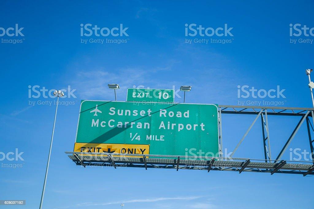 McCarran International Airport stock photo