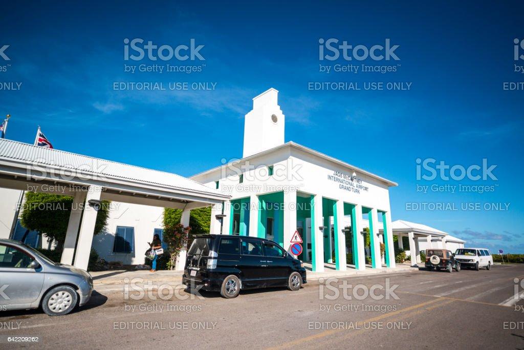 AGS McCartney International Airport, Grand Turk Island stock photo