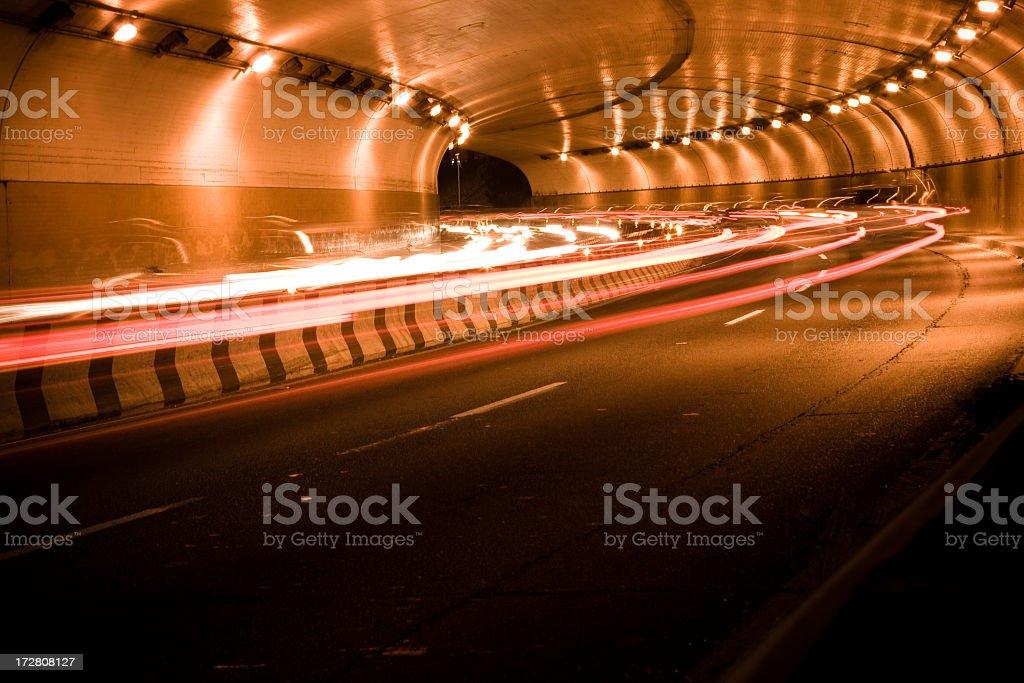 McClure Tunnel, Santa Monica stock photo