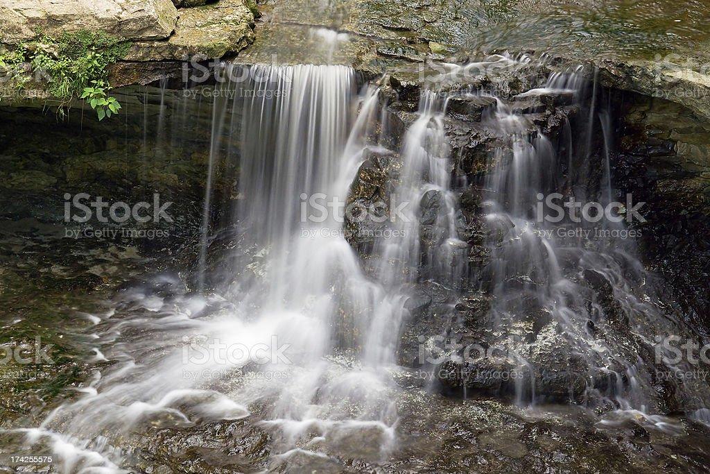 McCormick s Creek Falls foto stock royalty-free
