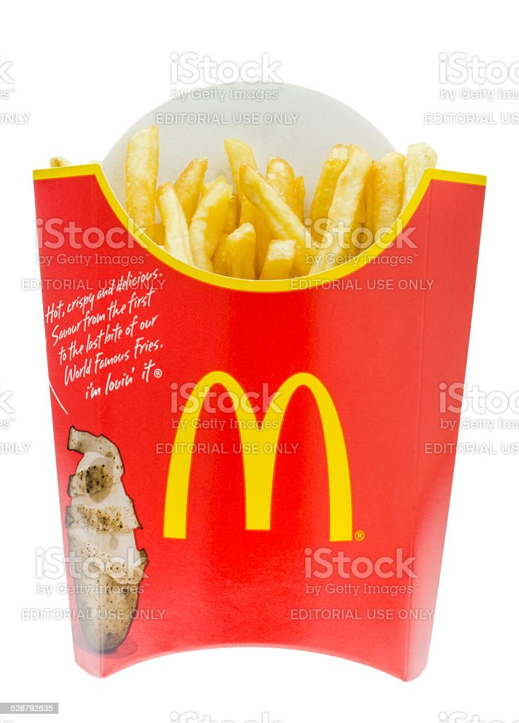 McDonald's French Fries stock photo