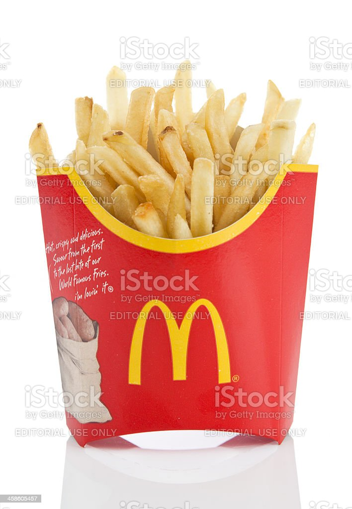 McDonald's Fries stock photo