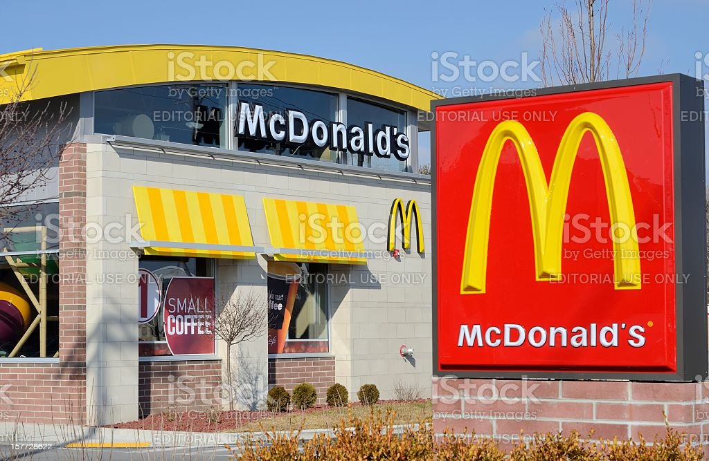 McDonald's royalty-free stock photo