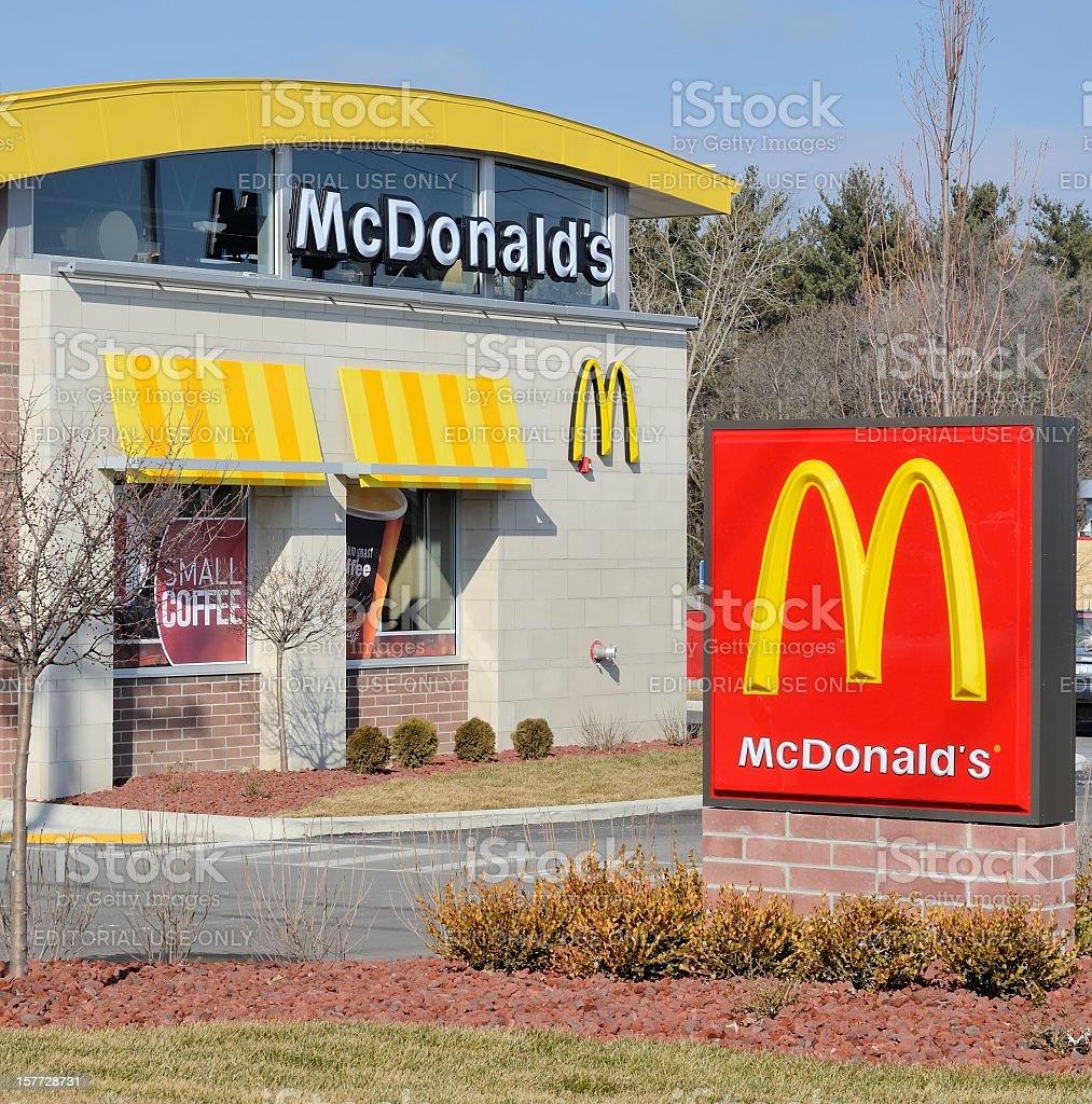 McDonald's royalty-free stock photo