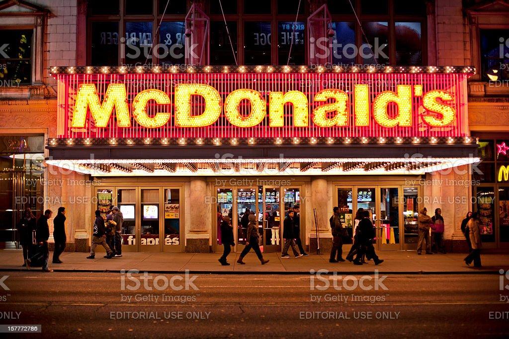 McDonalds royalty-free stock photo