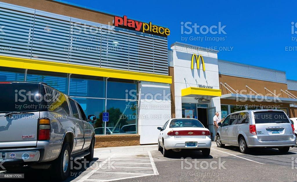 McDonald's stock photo