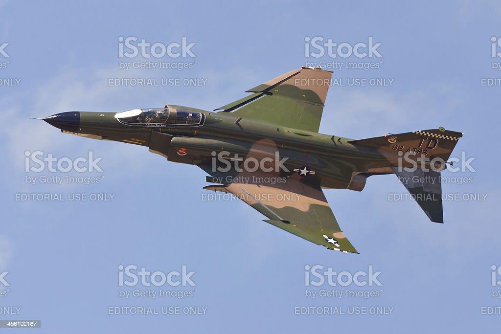 McDonnell Douglas F-4 Phantom II stock photo