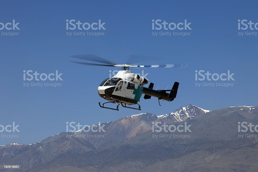 McDonnell Douglas MD 900 Helicopter stock photo
