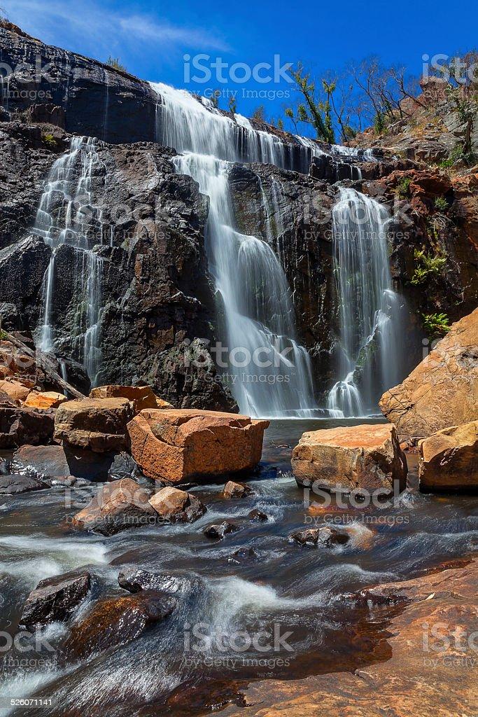 Mckenzie Falls, Victoria, Australia stock photo