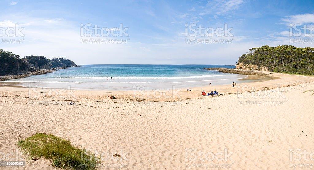 McKenzies Beach stock photo