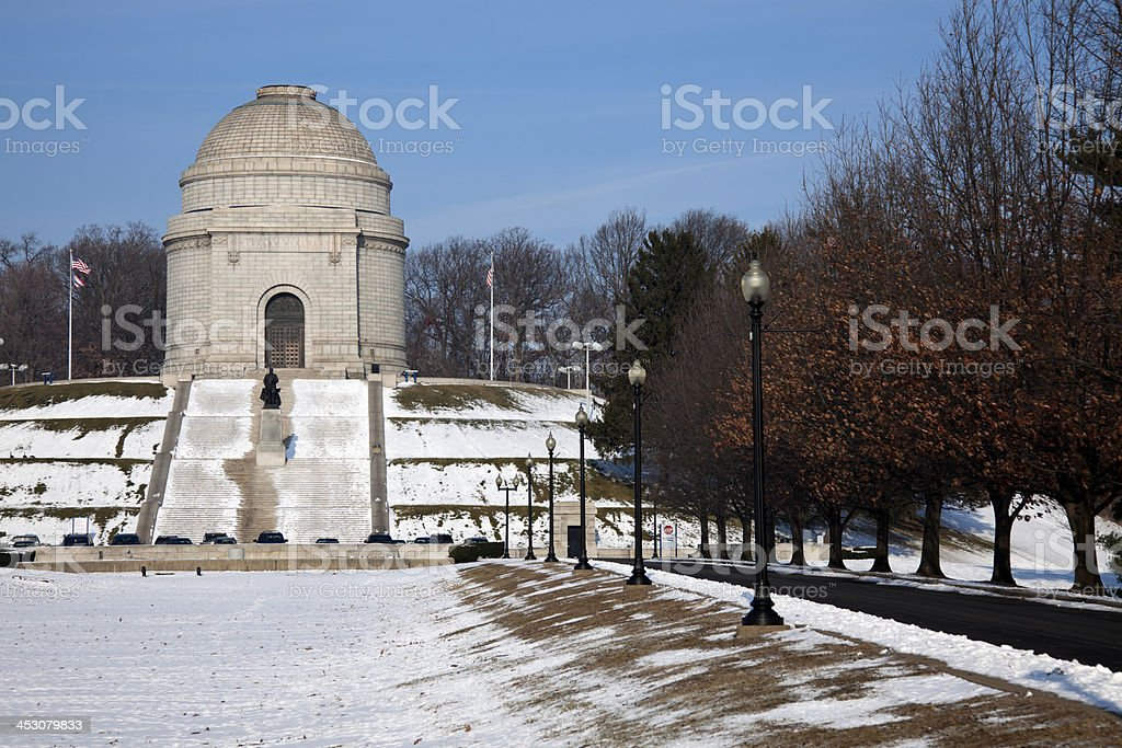 McKinley National Memorial stock photo