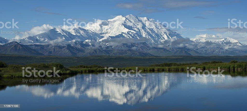 McKinley panorama royalty-free stock photo