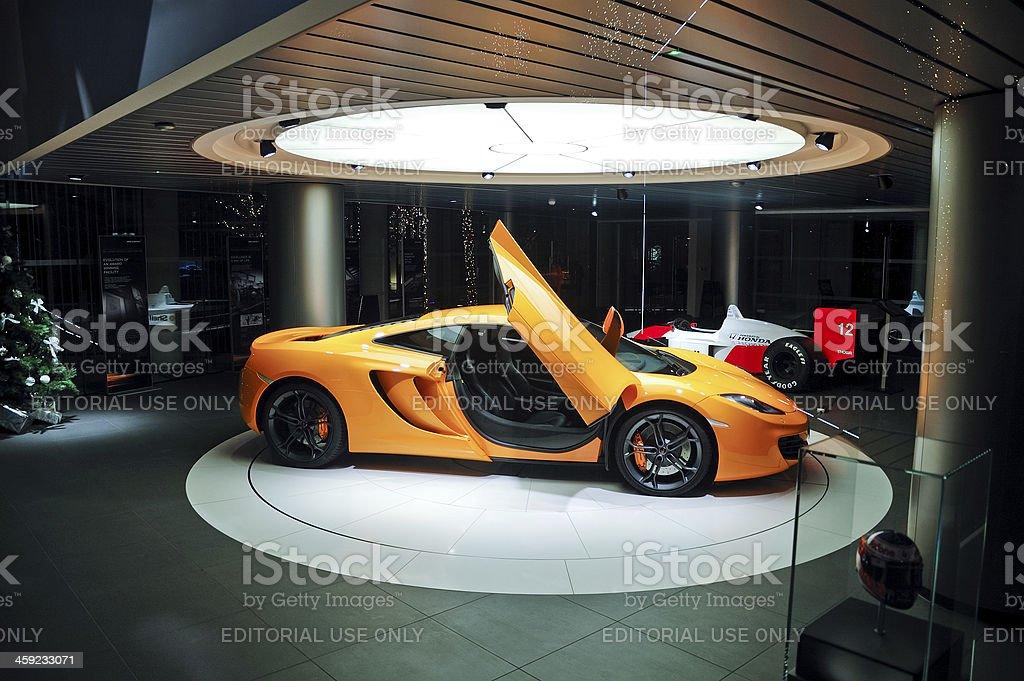 McLaren dealership in London stock photo