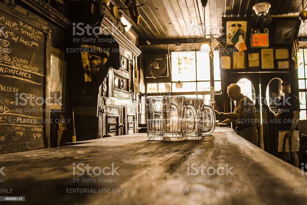 McSorley's Old Ale House Irish Pub NYC stock photo