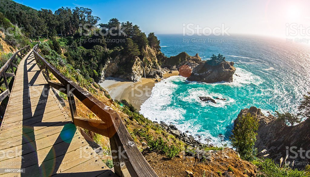 Mcway Fall, California stock photo
