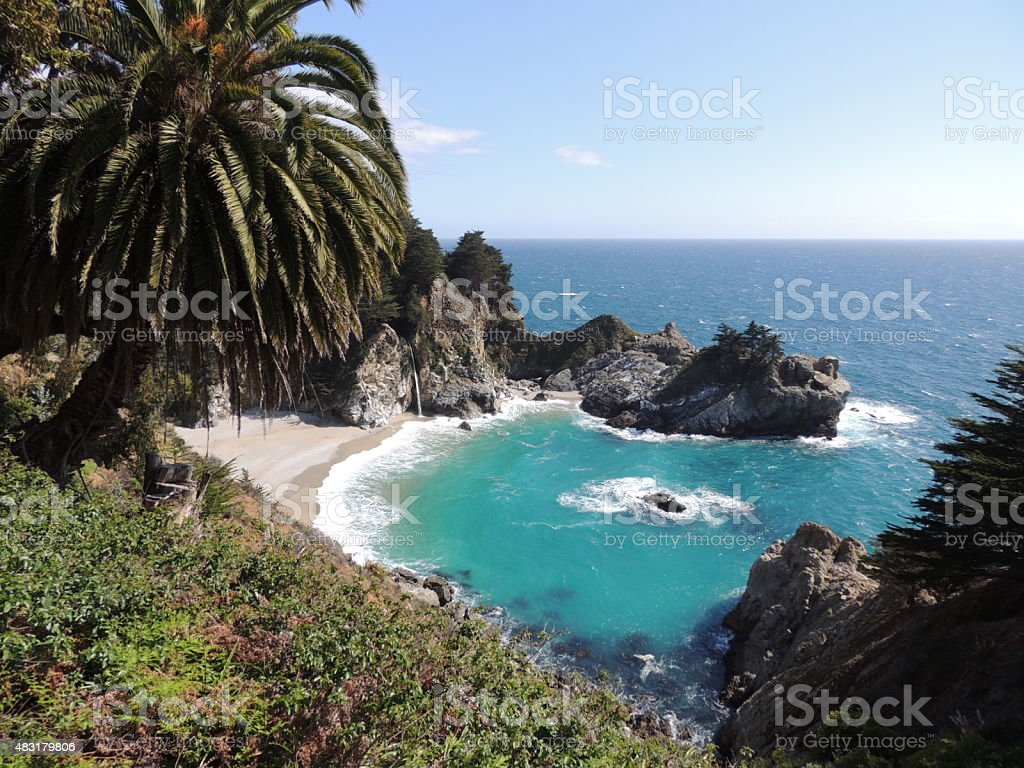 McWay Falls Big Sur stock photo
