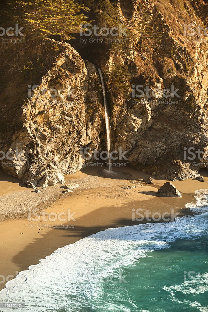 McWay Falls, Julia Pfeiffer State park, Big Sur, California, USA stock photo