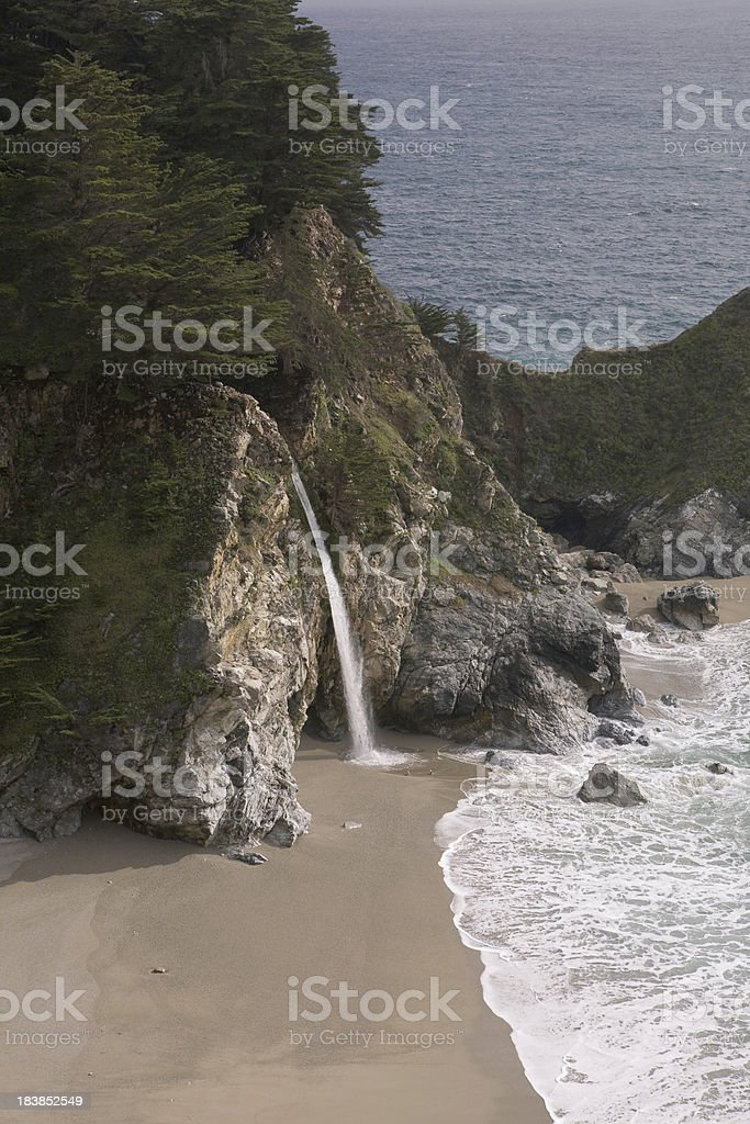 McWay Falls Vertical stock photo