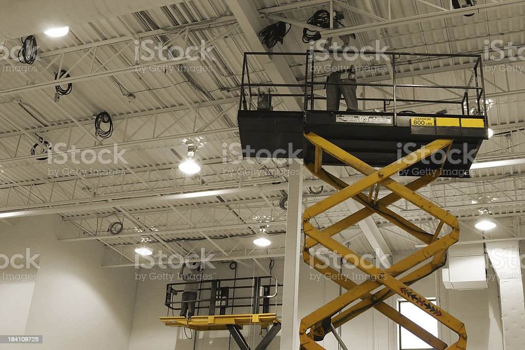 Mdern Maintenance Works Equipment stock photo