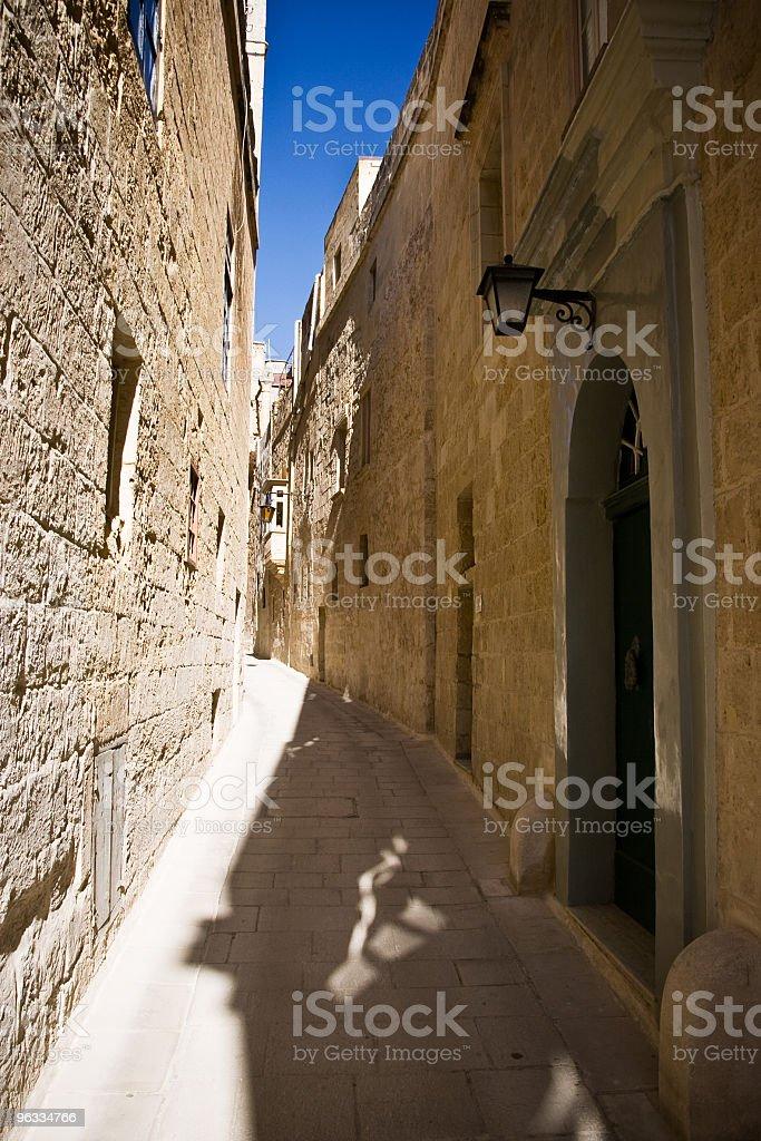 Mdina alley royalty-free stock photo