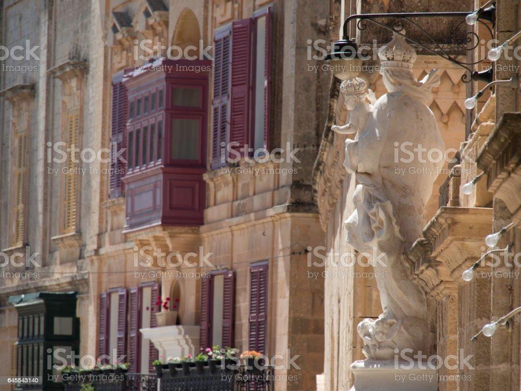 mdina at malta stock photo