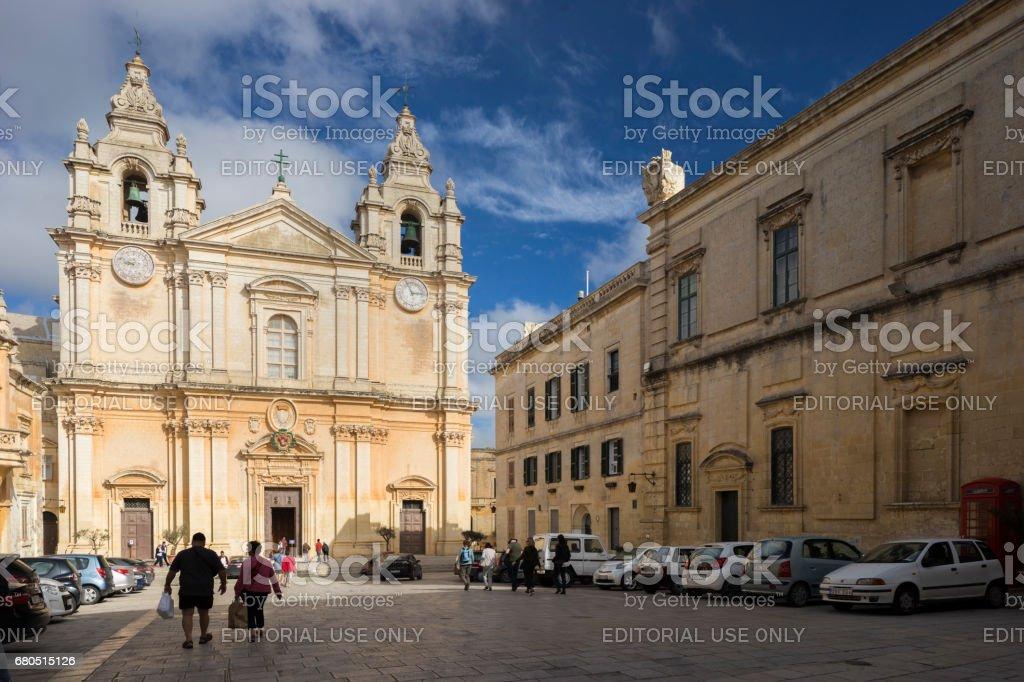Mdina, Capital City of Malta stock photo