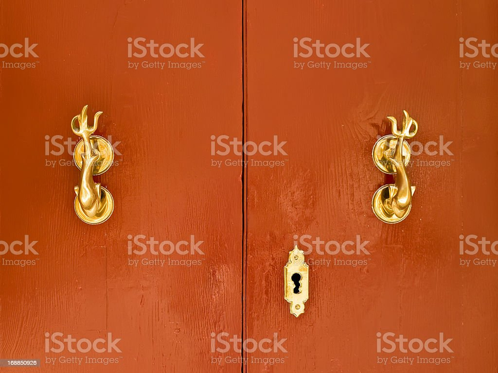 Mdina Door royalty-free stock photo