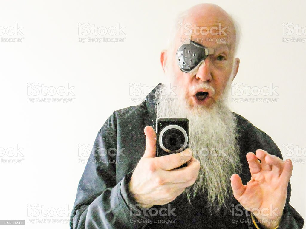 Me A Pirate? I'm Innocent I Tell You stock photo