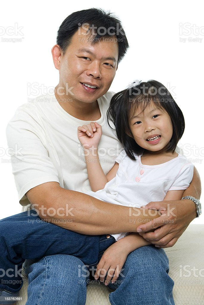 Me and my father royalty-free stock photo