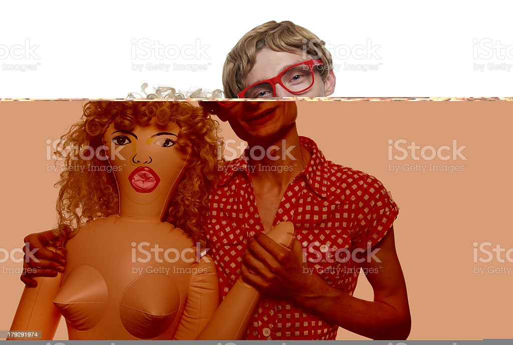Me and my girlfriend stock photo