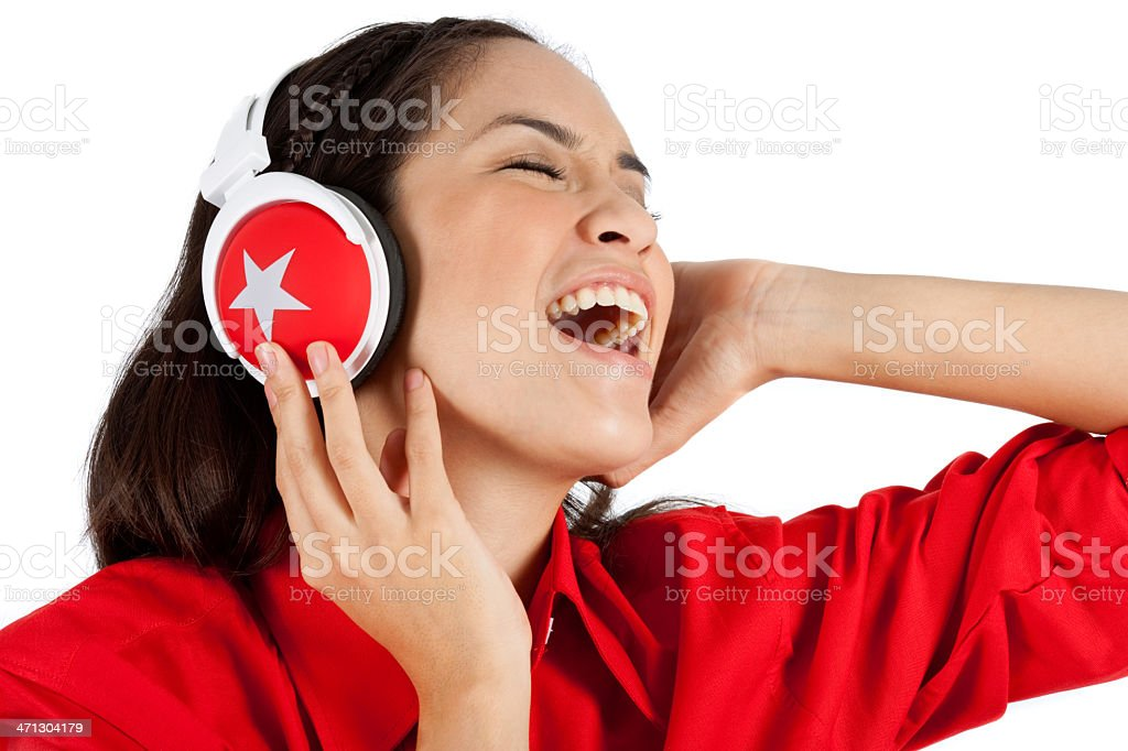 Me And My Music royalty-free stock photo
