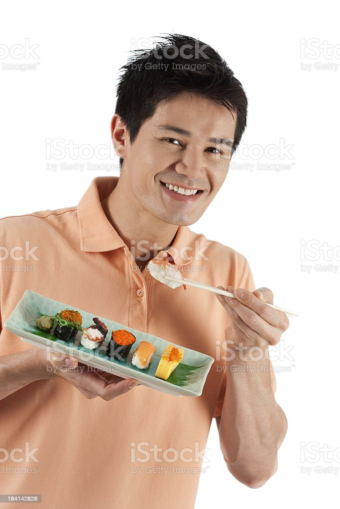 Me And My Sushi royalty-free stock photo
