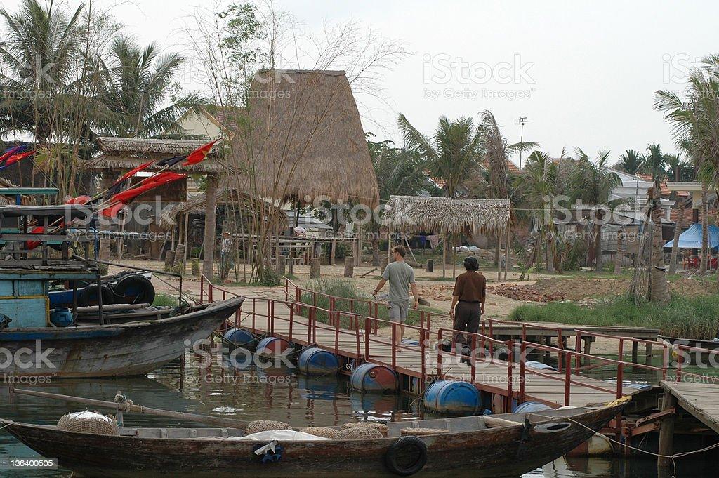 Moi Ne bridge royalty-free stock photo
