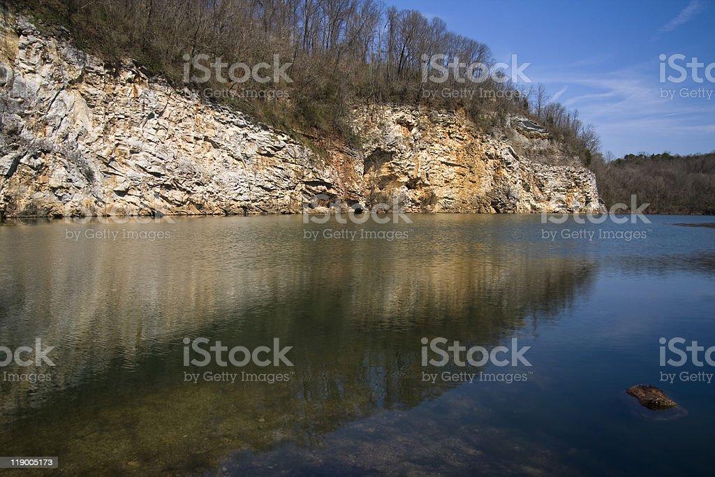 Mead's Quarry stock photo