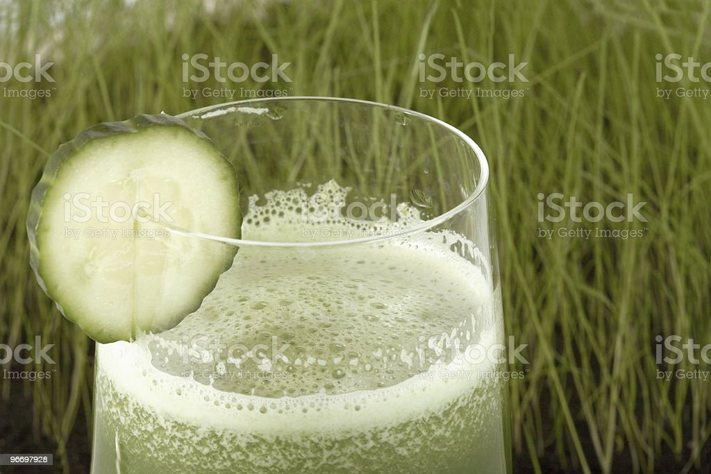 Meal  from a chlorophyll. royalty-free stock photo