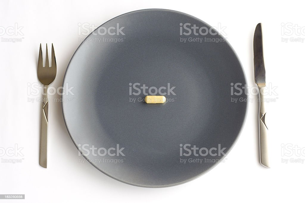meal of pill royalty-free stock photo