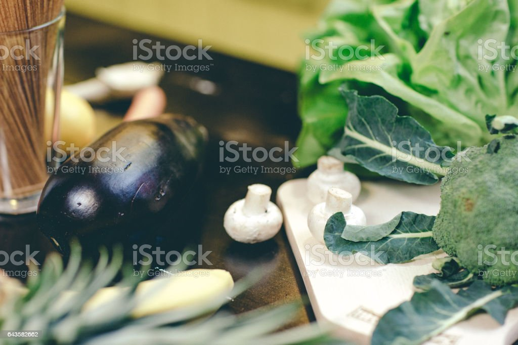 meal preparation stock photo