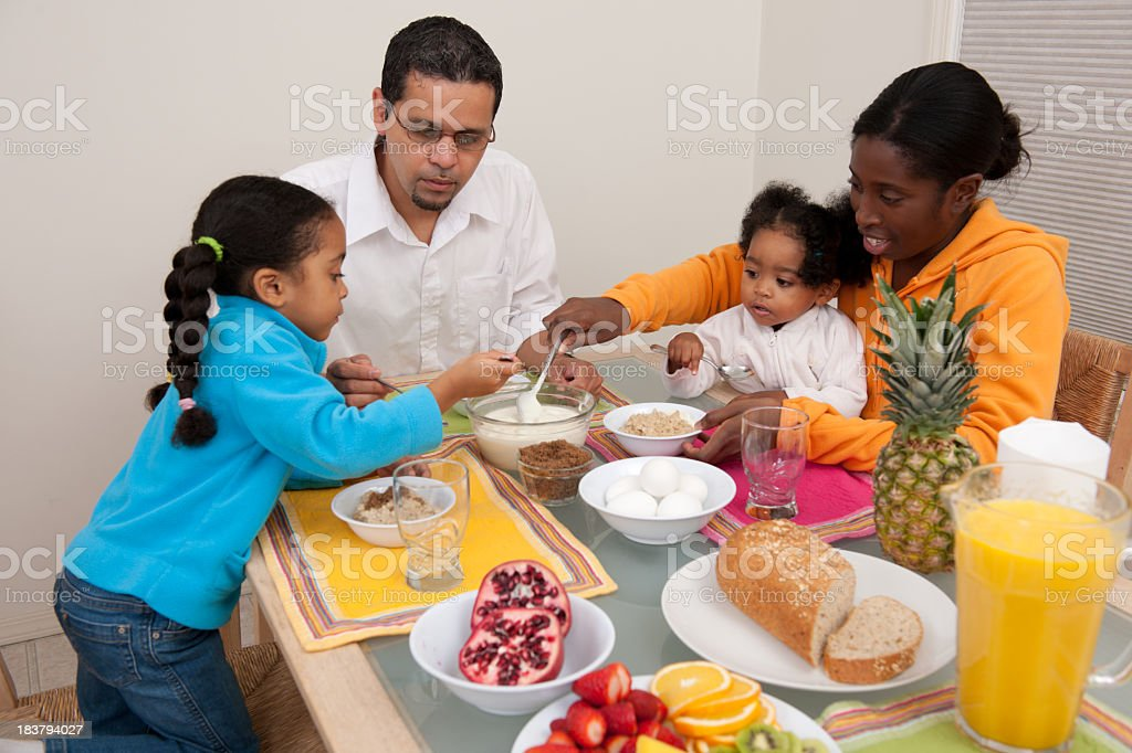 Meal time royalty-free stock photo