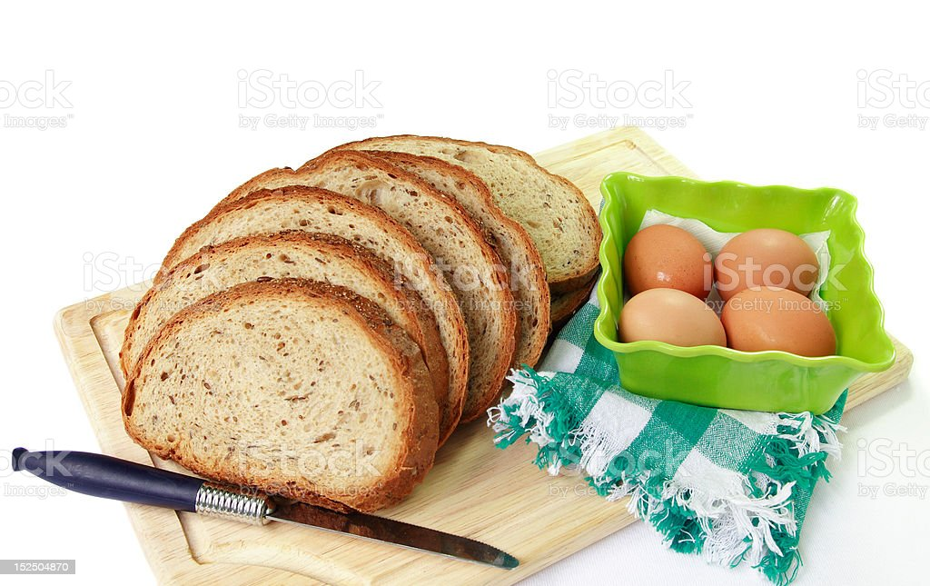 Mealtime - Bread royalty-free stock photo