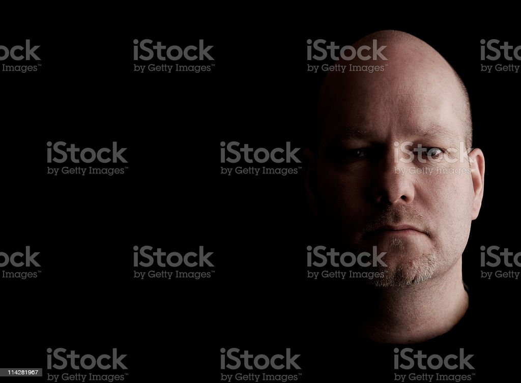 Mean... royalty-free stock photo