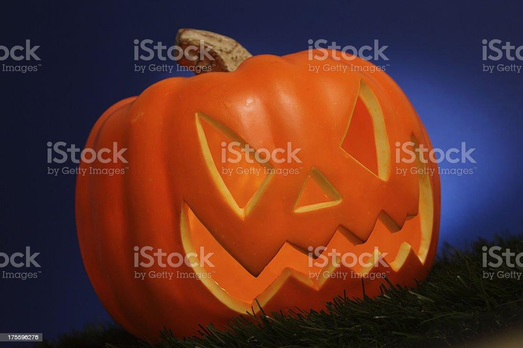 Mean Pumpkin royalty-free stock photo